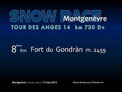 SNOW RACE MONTGENEVRE 2013