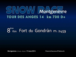 SNOW RACE MONTGENEVRE 2013
