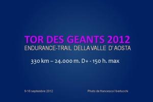 TOR DES GÉANTS 2012