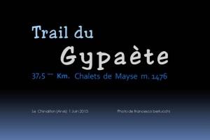 TRAIL DU GYPAETE 2013