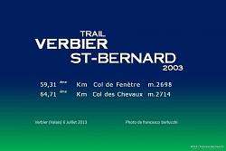 TRAIL VERBIER ST-BERNARD 2013