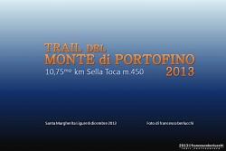 TRAIL DEL MONTE DI PORTOFINO 2013
