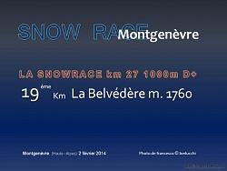 SNOW RACE MONTGENEVRE 2014