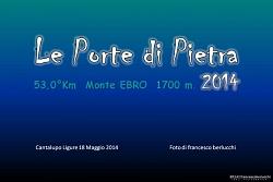 LE PORTE DI PIETRA 2014