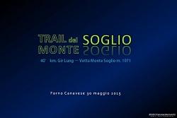 Sulle tracce del TRAIL DEL MONTE SOGLIO 2015