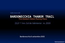 Sulle tracce del THABOR TRAIL 2015