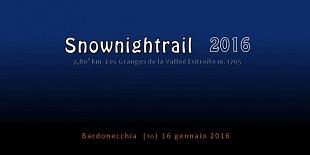 Sulle tracce del SNOWTRAIL 2016 - DOWNLOADS