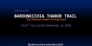 Sulle tracce del BARDONOCCHIA THABOR TRAIL 2015