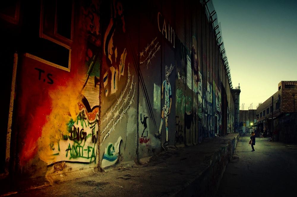 03/2019 - Betlemme - 05/2019 Muro (barriera di separazione/divisione tra israeliani e palestinesi)